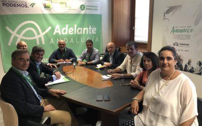 Flacema se reune con Adelante Andalucía