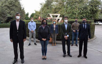 El PP de Sevilla visita la cementera de Alcalá para conocer de primera mano los proyectos empresariales de Cementos Portland