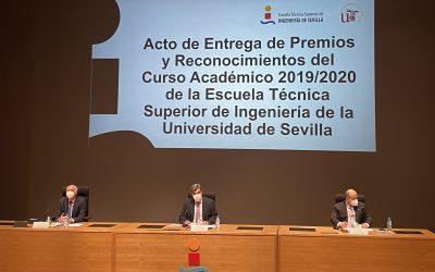 FLACEMA participa en la entrega de premios de la ETSI de la Universidad de Sevilla