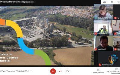 FLACEMA y Cementos COSMOS imparten talleres sobre economía circular en los centros de enseñanza del entorno de Niebla